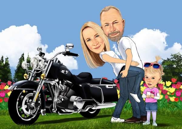 Die Biker Family