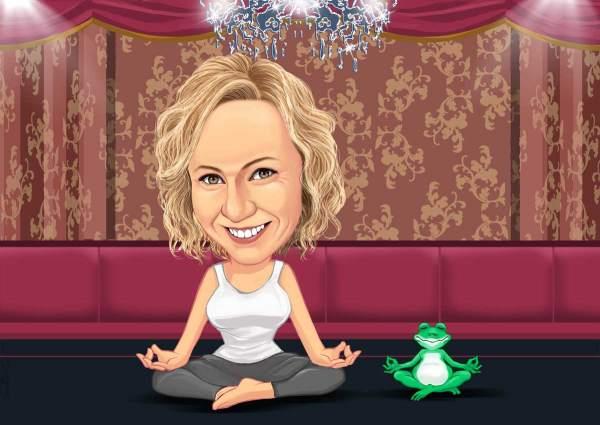 Meine Meditationsstunde