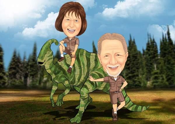 Dinosaurier Enthusiasten