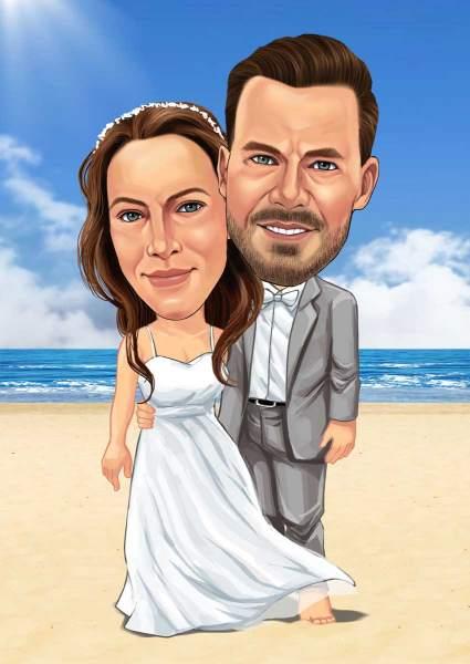 Die Strand Hochzeit