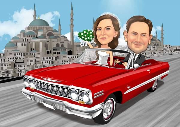 Hochzeit im Orient