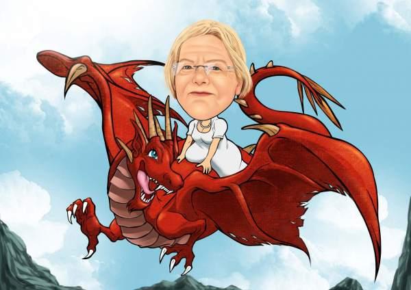 Die Drachenfrau