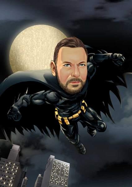 Super Held der Nacht