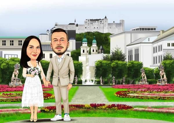 Hochzeit am Schlossgarten
