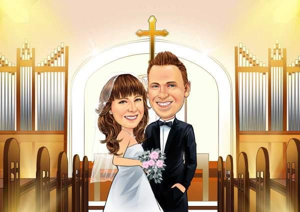Die christliche Hochzeit