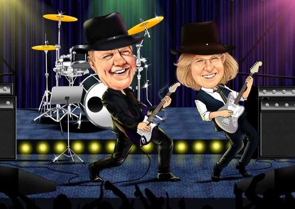Das Rock Konzert