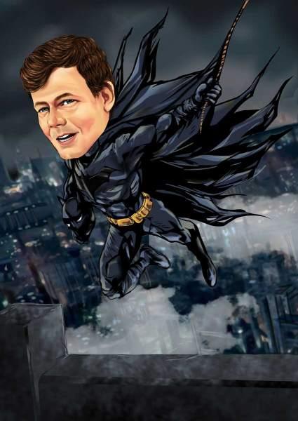 Dein schwarzer Superheld