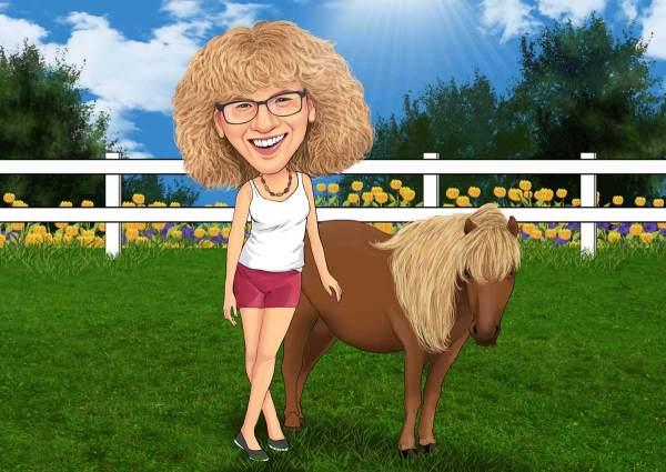 Ich und mein Pony