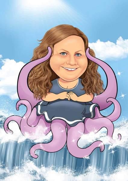 Die etwas andere Meerjungfrau