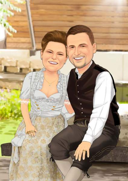Bayrisches Ehepaar