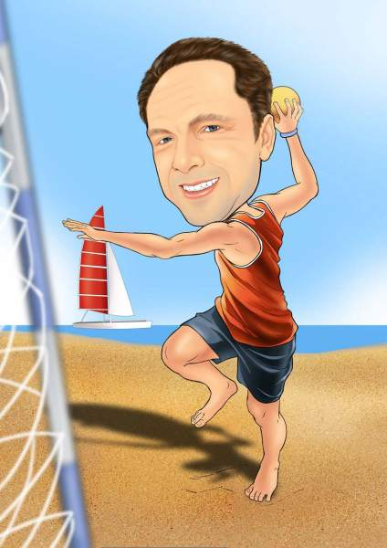 Strand Handball