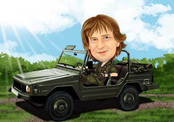 Jeep der Bundeswehr