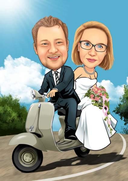 Hochzeitsflitzer