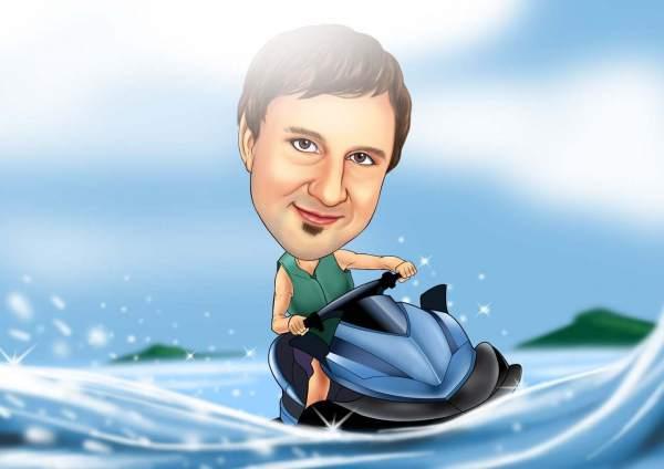 Spaß auf dem Wasser