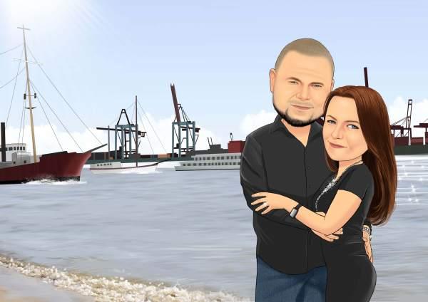 Am Hafen der Liebe