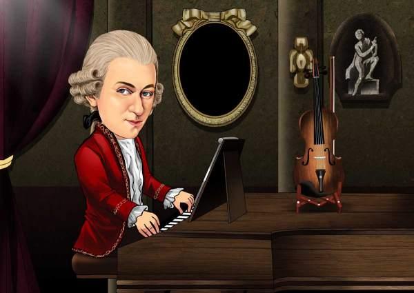 Mozarts Abend