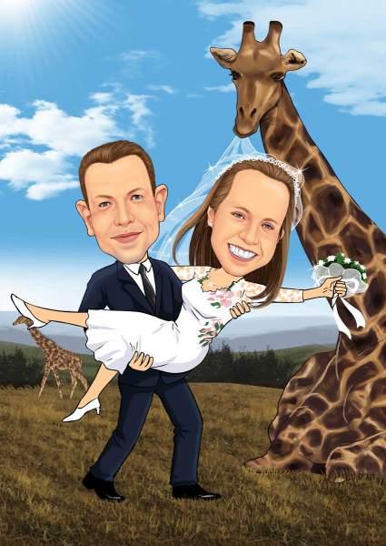 Hochzeit in Afrika