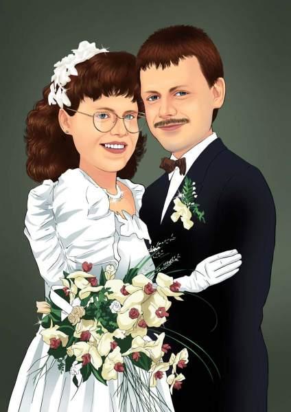Hochzeitsschnappschuss