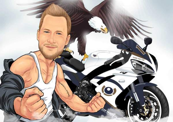 Motorrad ist mein Leben