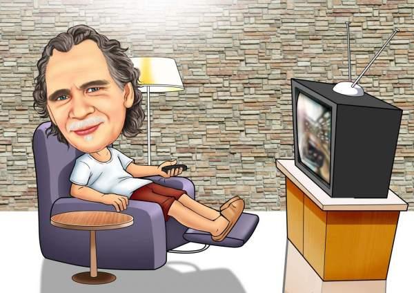 Ein Abend vor dem Fernseher