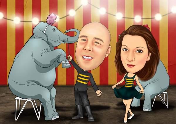 Elefanten Vorstellung