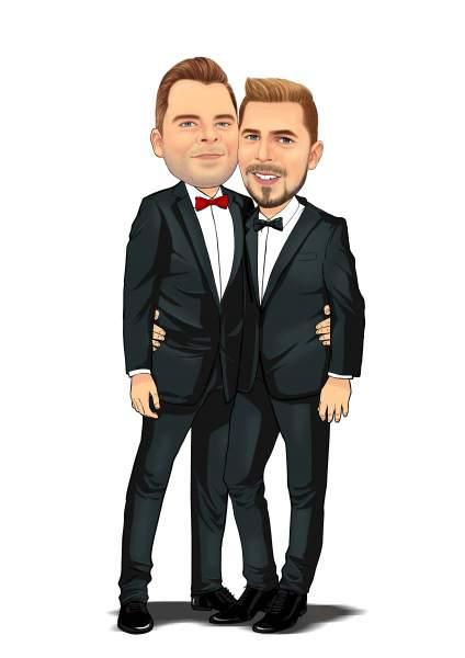 Zwei Gentleman