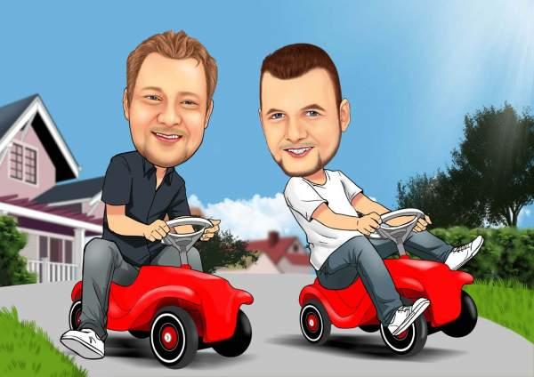 Bobby-Car-Rennen