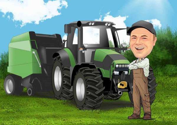 Mein großer Traktor
