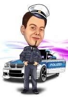 Polizei auf Streife