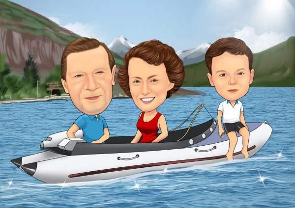 Im gleichem Boot
