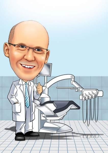 Der freundliche Zahnarzt