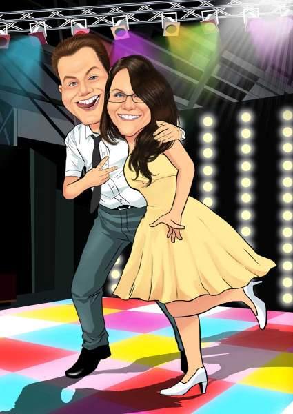 Wir lieben das Tanzen