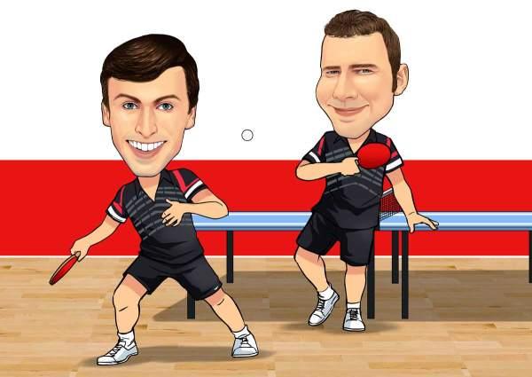 Tischtennis Profis