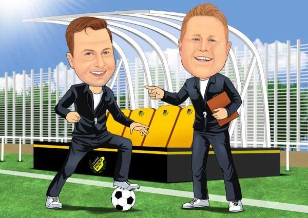 Der Chef Coach und sein Co