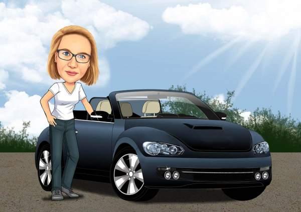 Frauenauto
