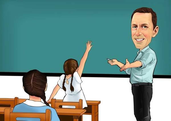 Unser Mathe Lehrer