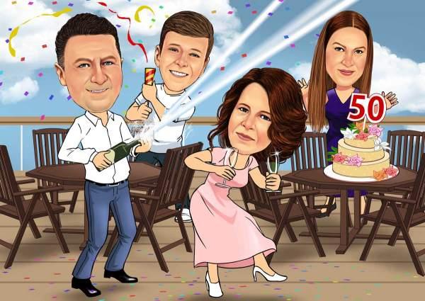 Party zum 50. Geburtstag