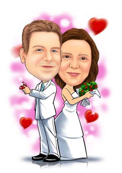 Hochzeitsantrag wahrgenommen