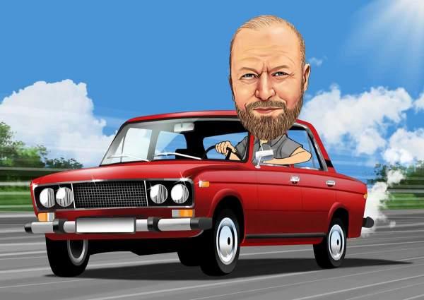 Der Autofahrer