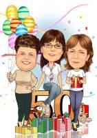 50. Geburtstags Party