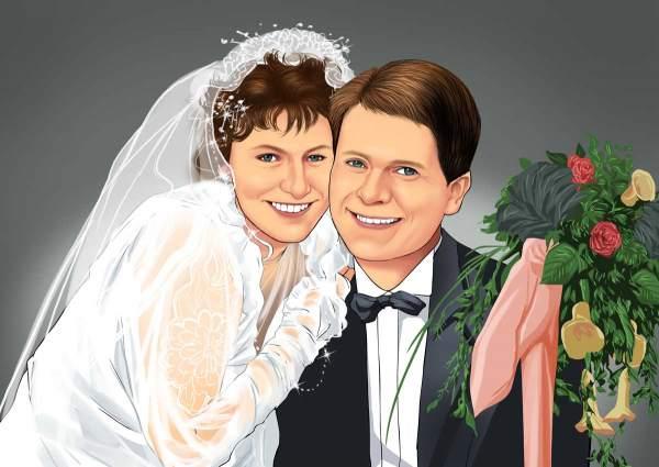 Unser gemeinsames Hochzeitsbild