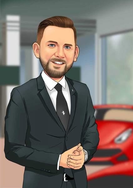 Der Autohändler