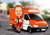 Rettungsdienst einsatzbereit