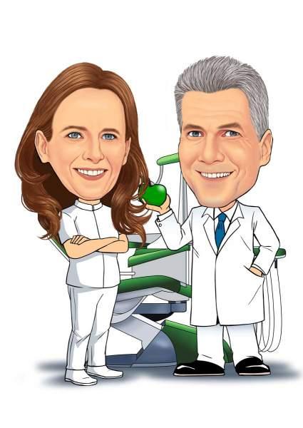 Das Zahnarzt Duo
