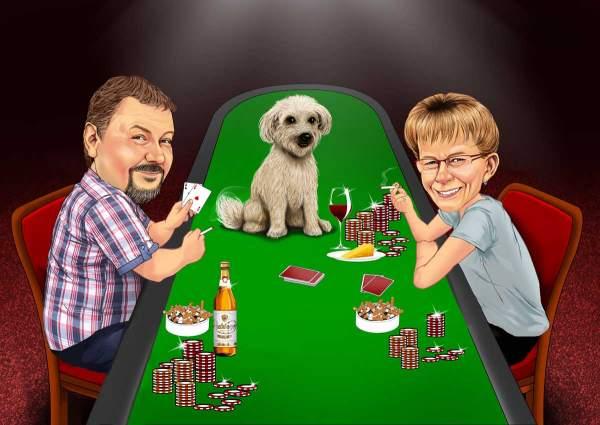 Poker Abend
