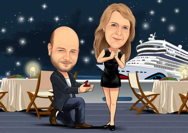 Verliebt auf der Schiffsreise