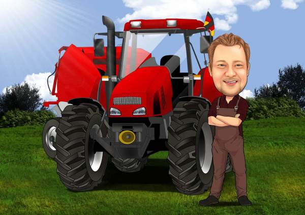 Kritischer Landwirt