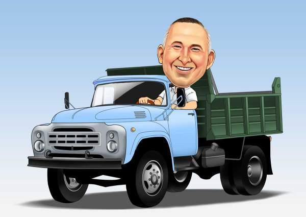 Ich und mein Truck