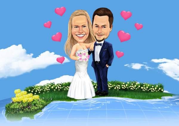 Die Insel Heirat