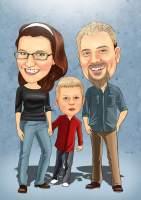 Lässige Familie
